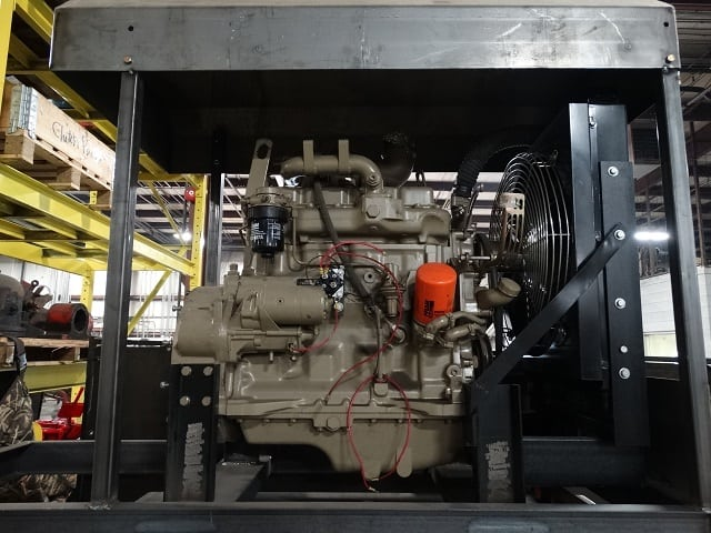 Rig Deck Engine without Clutch, Cummins 185hp