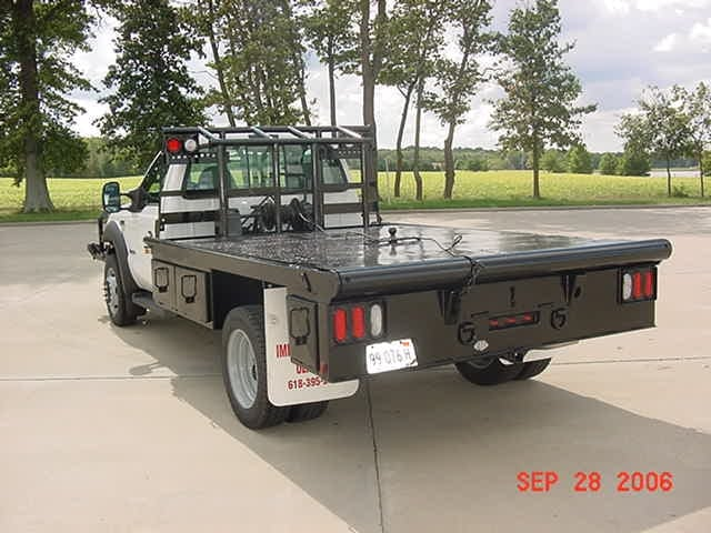 Past Project: Truck Beds & Service Cranes